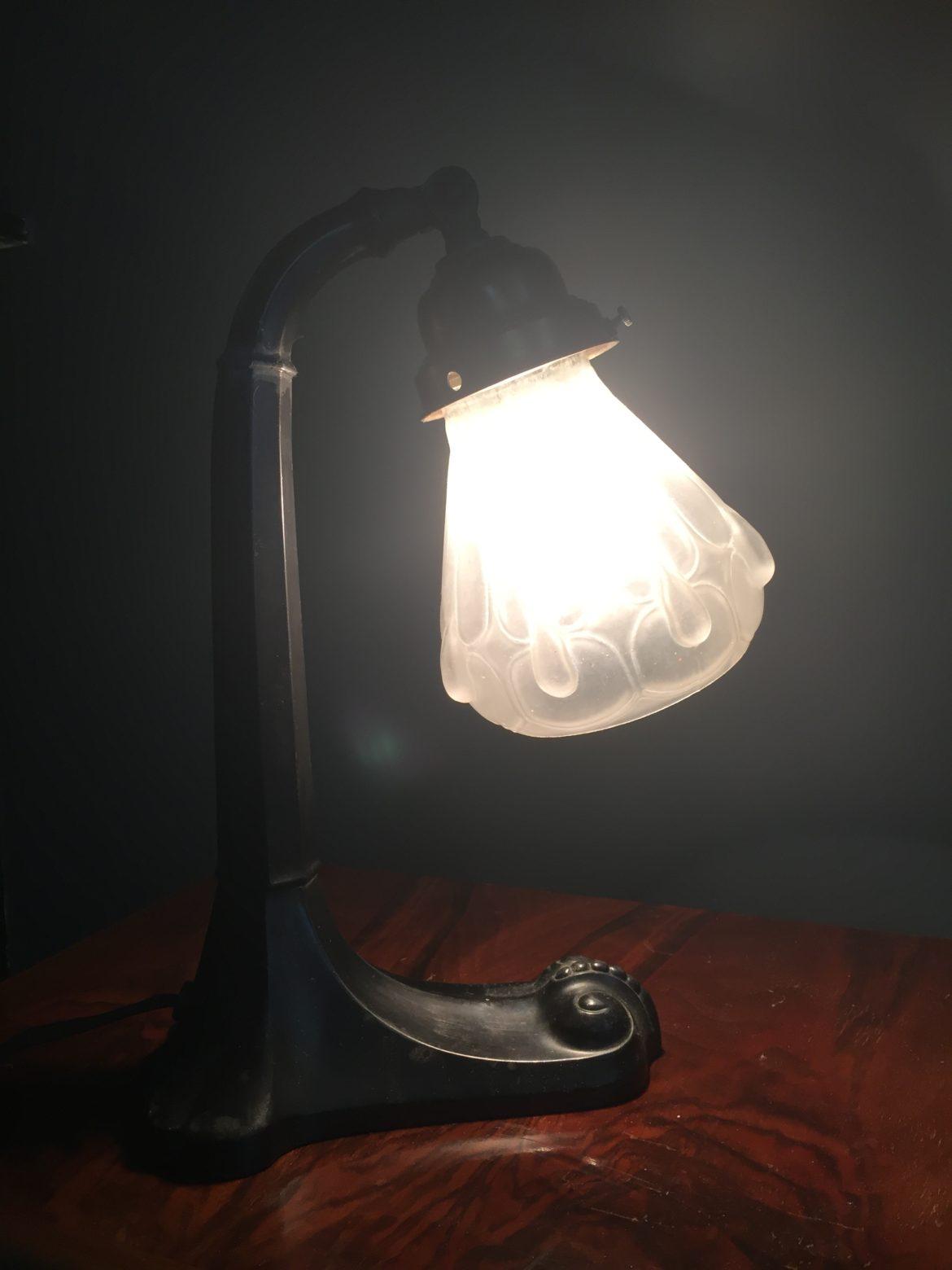 Jugendstil lamp 1