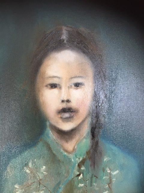 groene kimono meisje 40:50